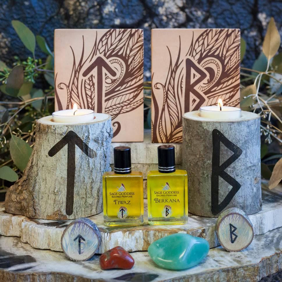 Month of Magic Runes Tiwaz and Berkana