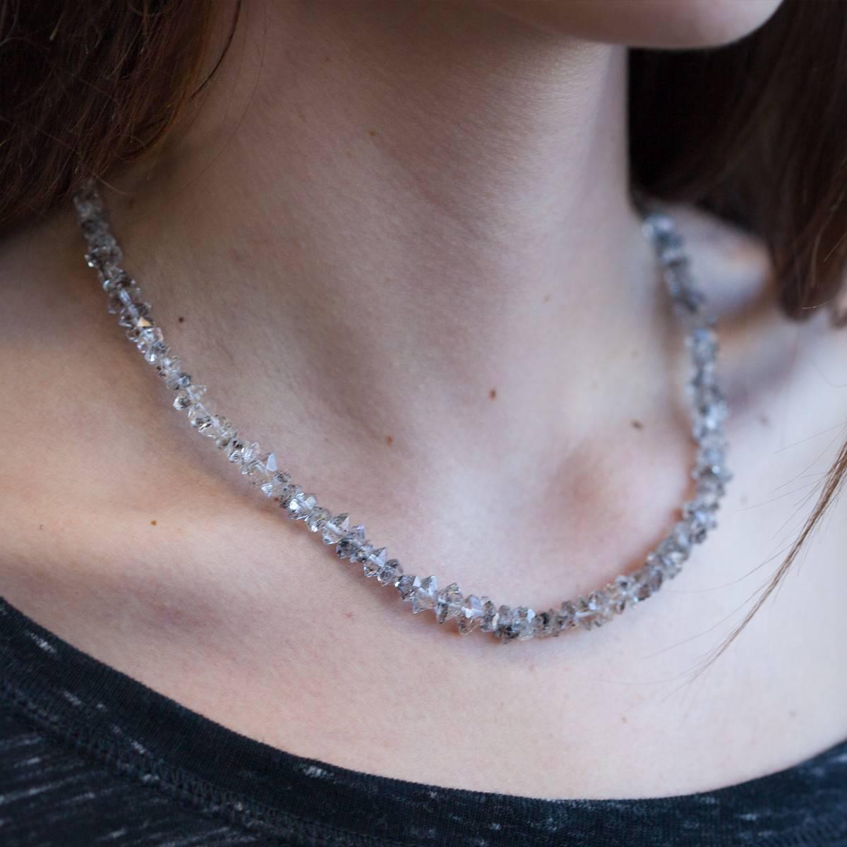 Healing Herkimer Diamond Necklaces 4_20 Primary