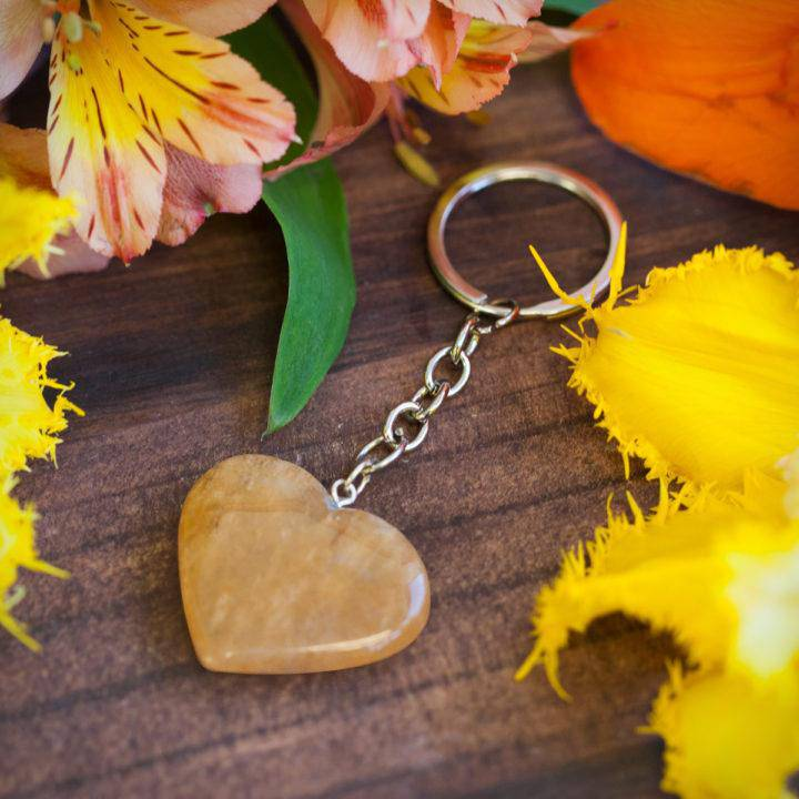Manipura Heart Keychain 6_8 Primary