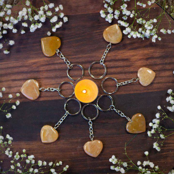 Manipura Heart Keychains