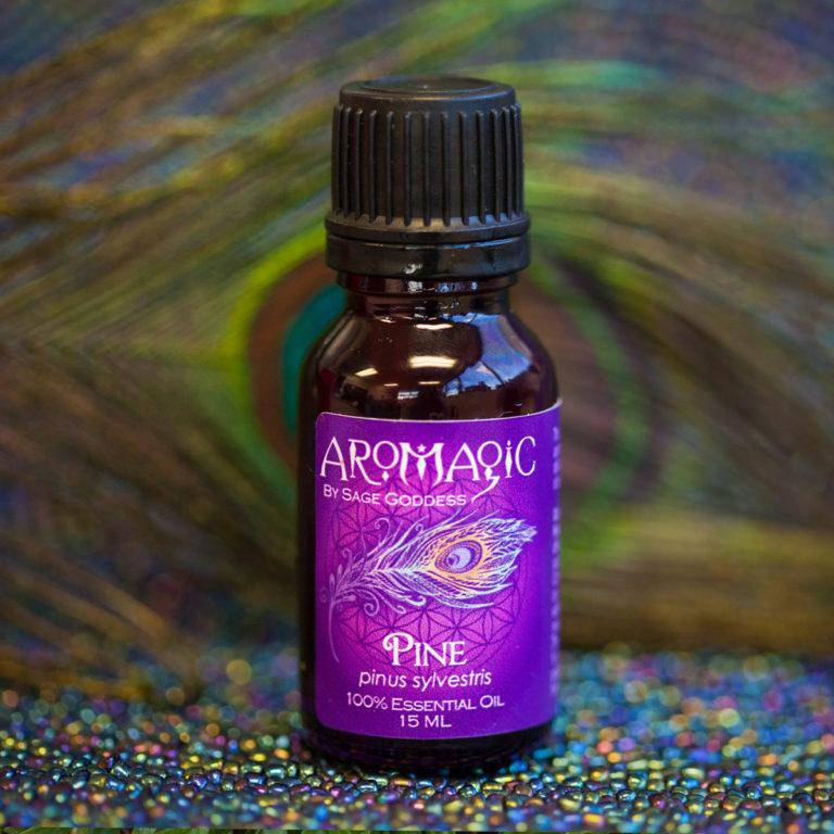 Pine Essential Oil for purification, wisdom, and strength