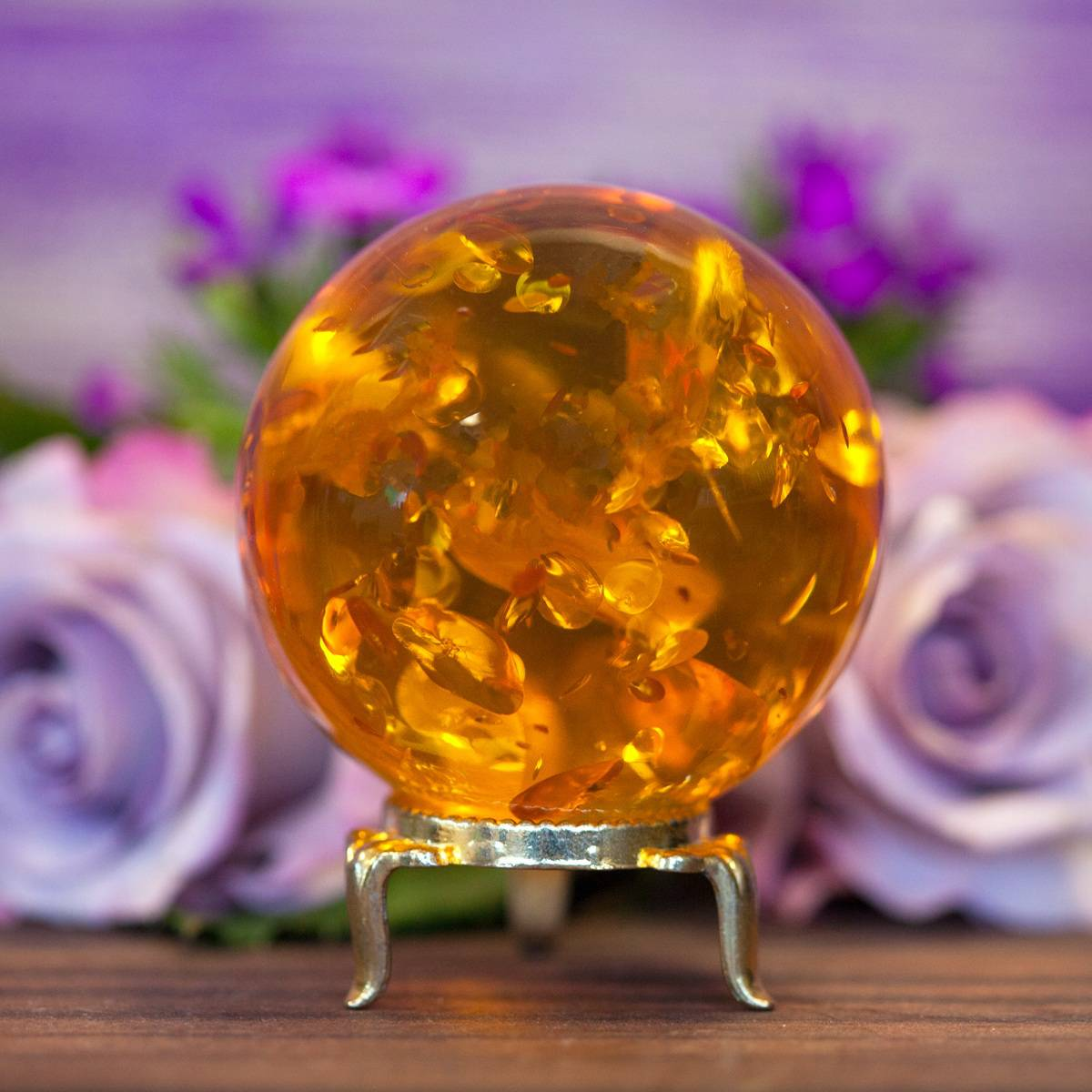 Reconstituted Amber Spheres 1_1