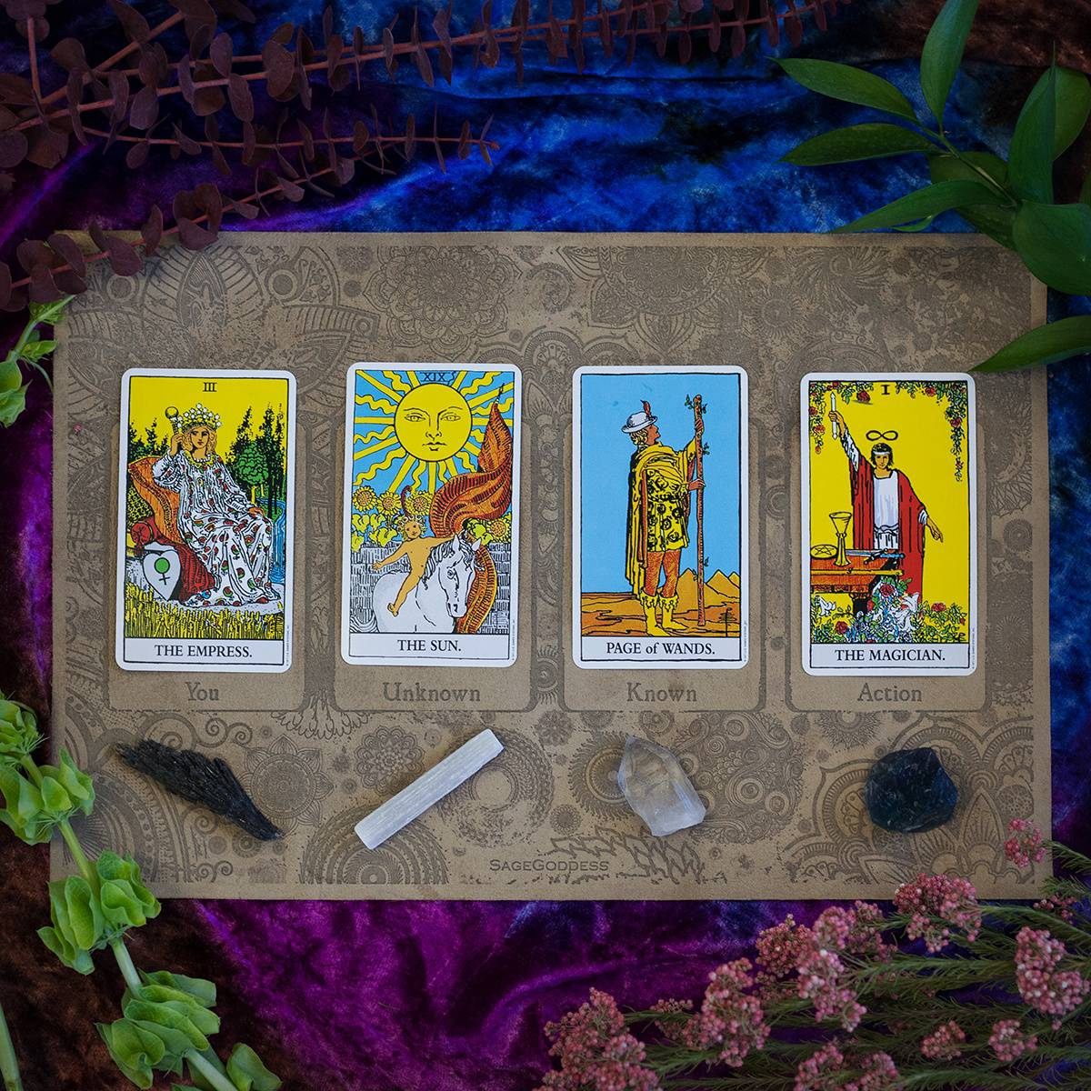 Tarot Canvas and Stone Set 4_18