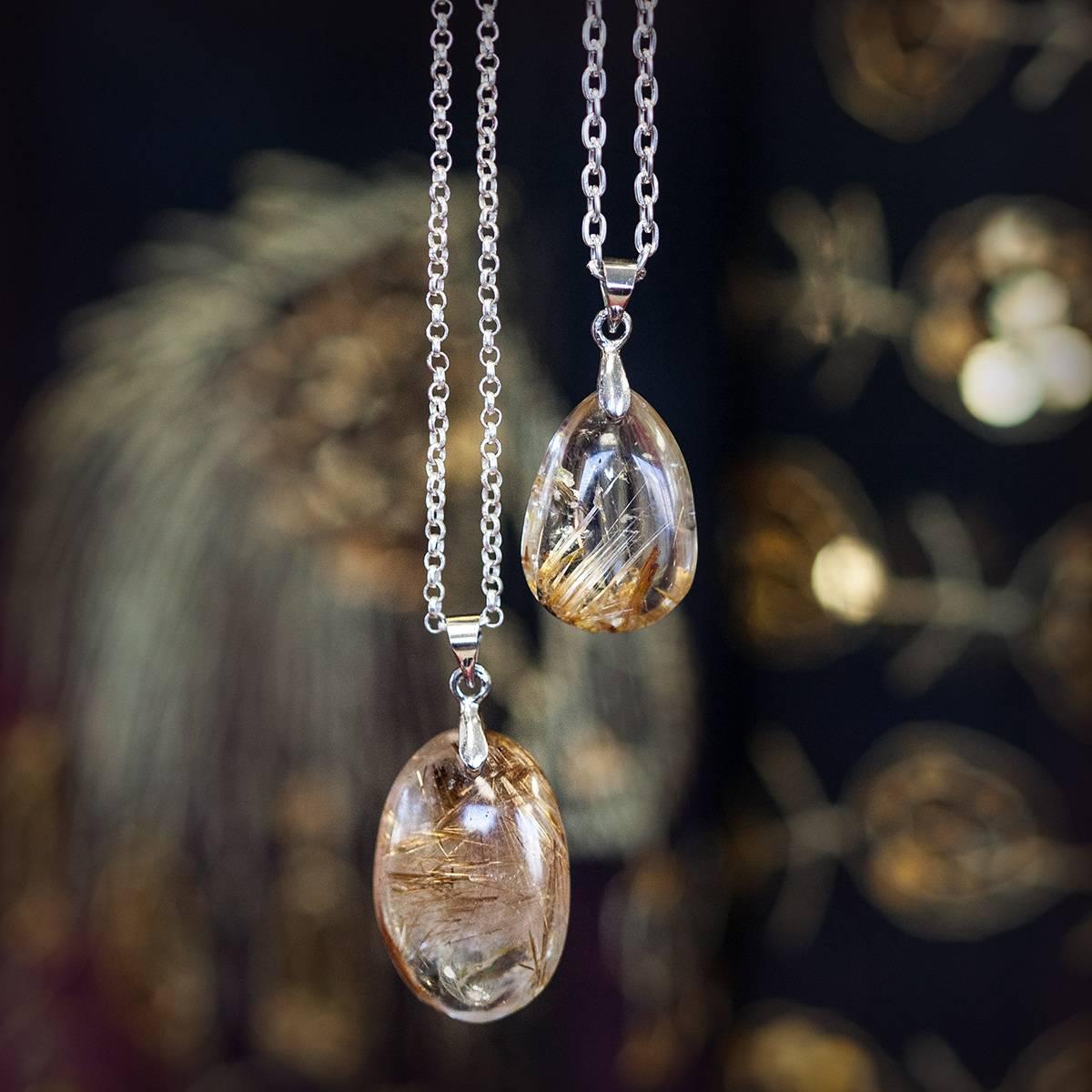 Transformation drop pendants for courage through change aloadofball Choice Image