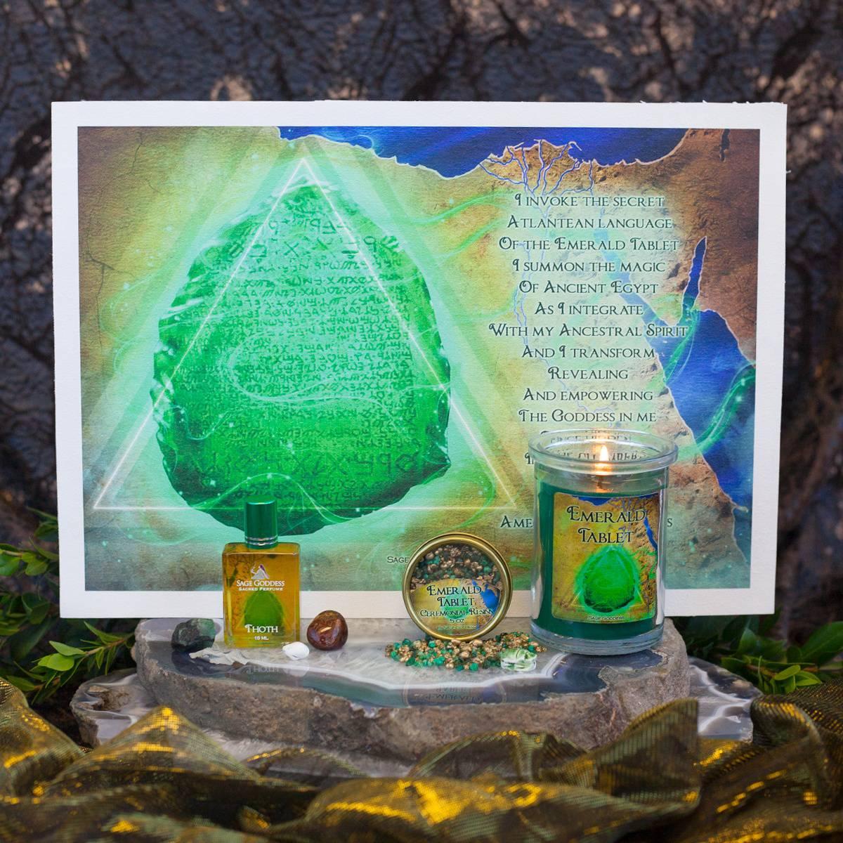 Egyptian Magic Sabbatical 2018 Set – Emerald Tablet