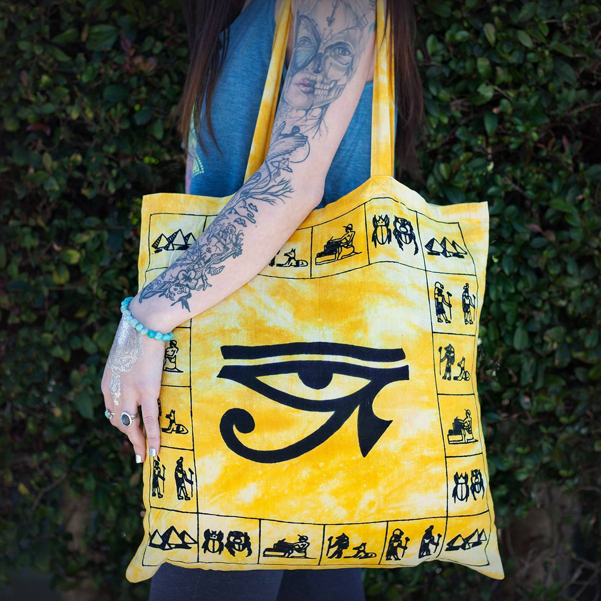 Eye of Ra Tote Bag 1_26
