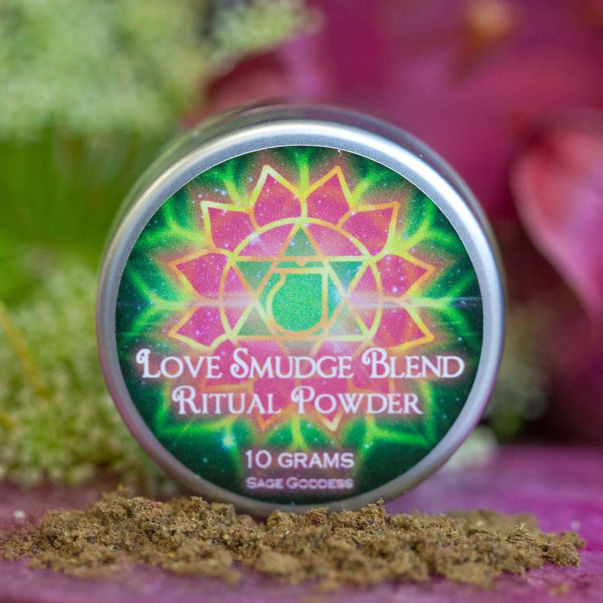 Love Smudge Blend Ritual Powder 1_23