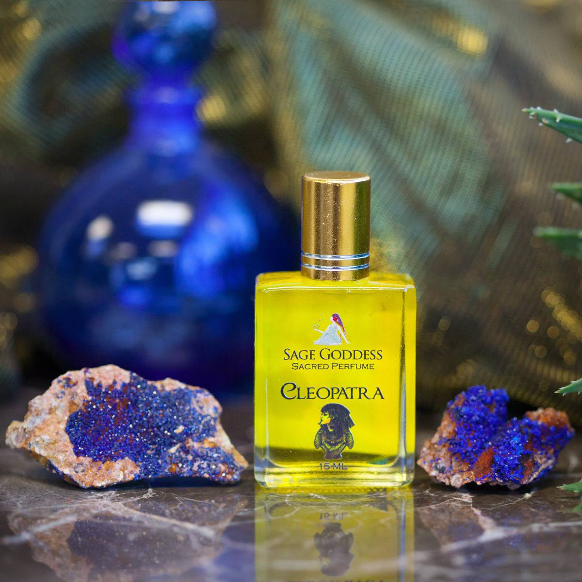 Natural Azurite with Cleopatra Perfume 1_29