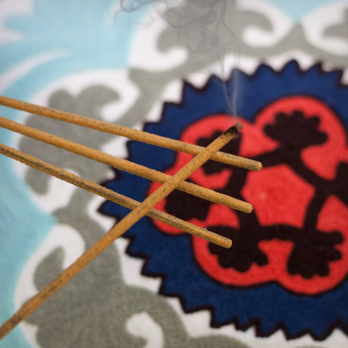 Sumerian Spiral Incense Holder with Nag Champa Incense Only 1_13 Secondary