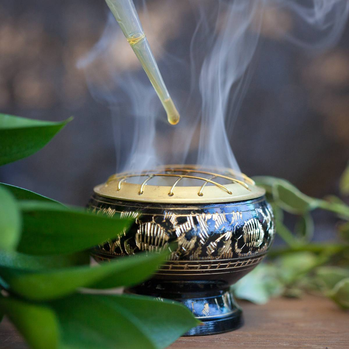 Altar Liquid Incense To Consecrate Sacred Space