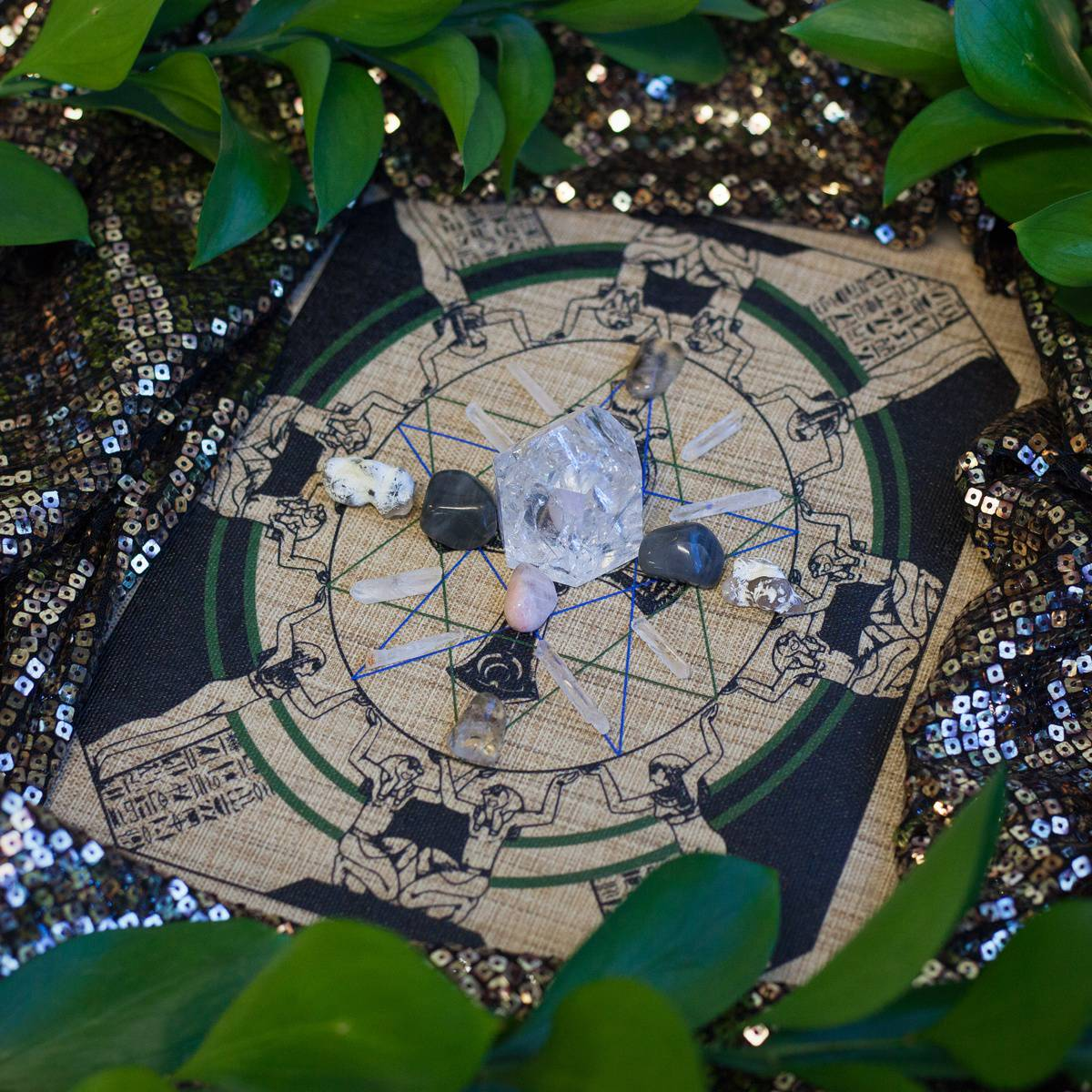 Ancestral Connection Crystal Grid 2_24