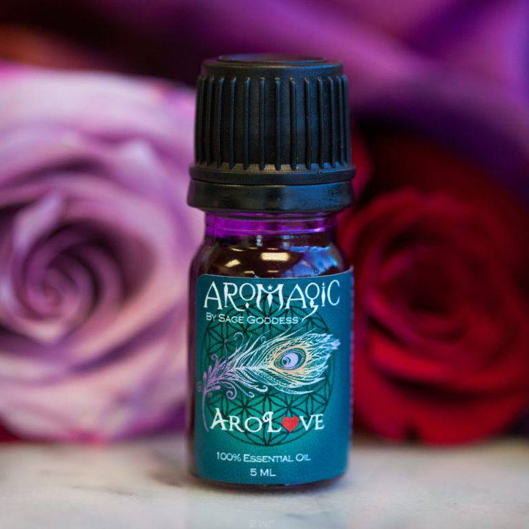 AroLove Essential Oil Blend for love, sensuality, and spiritual growth
