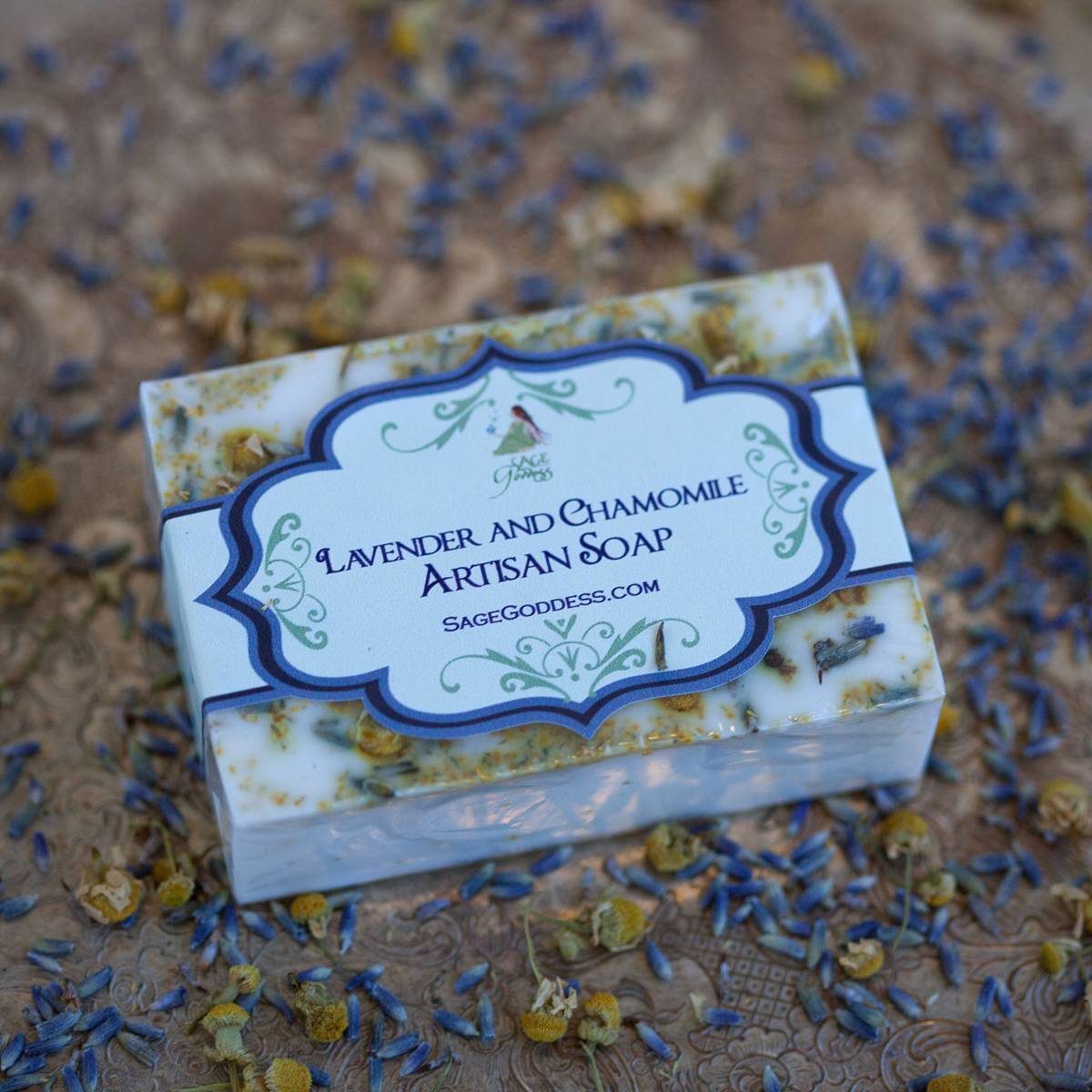 Lavender and Chamomile Artisan Soap 2_28