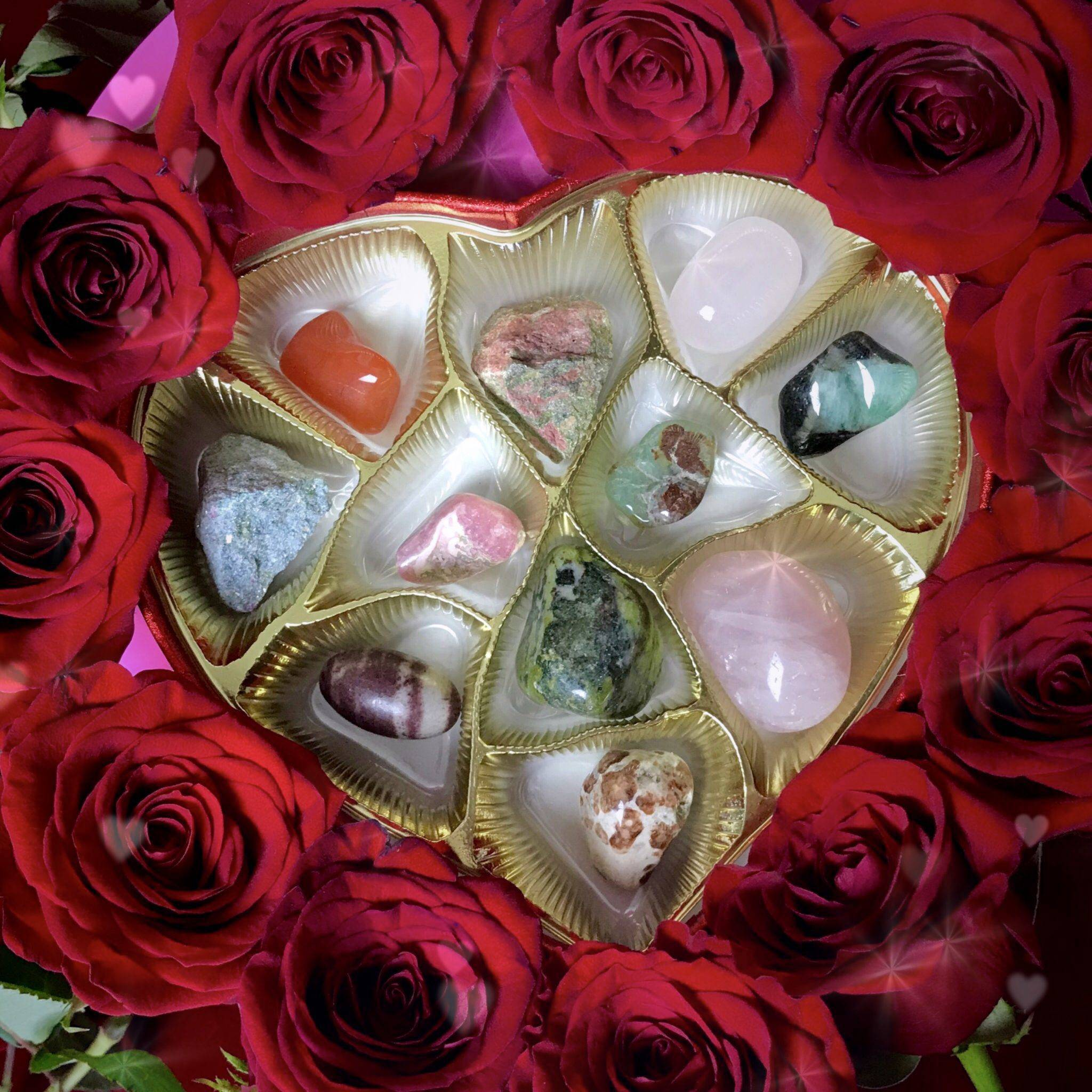 geode Gemstones Editable for Valentines or notecards Gemstone Valentines Crystal Valentine Gelogy diamonds