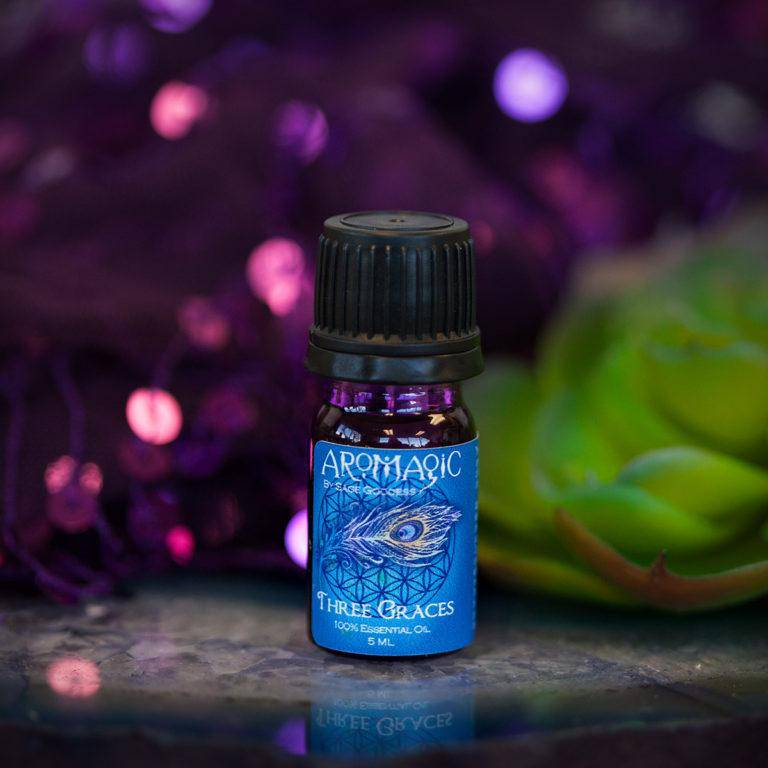 Three Graces Essential Oil Blend for calm, balance, and heart-opening healing