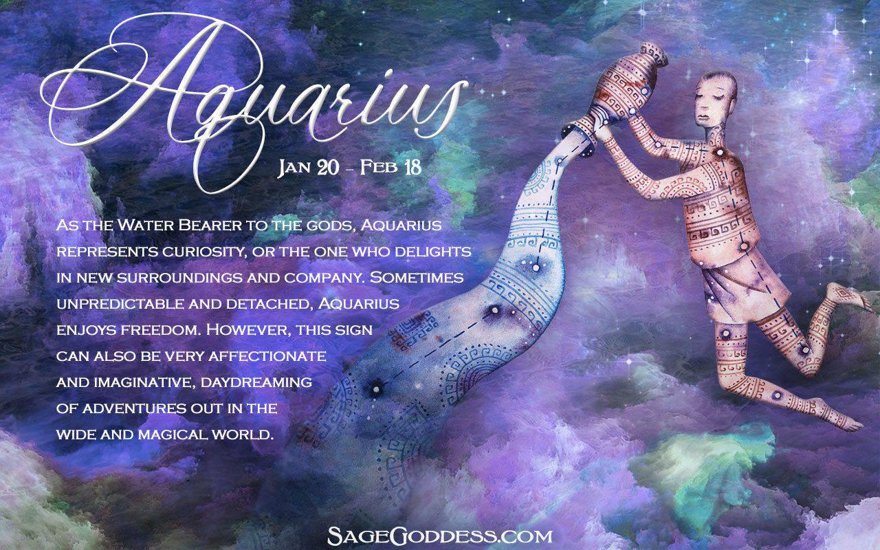 Zodiac E-Cards - Sage Goddess