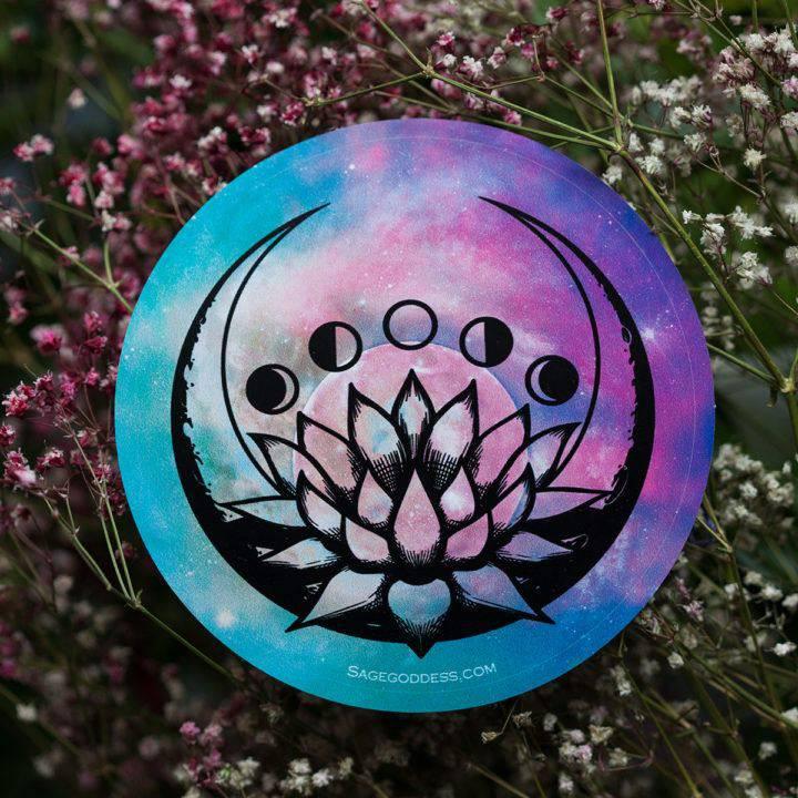 Lotus Moon Phase Decal 4_11