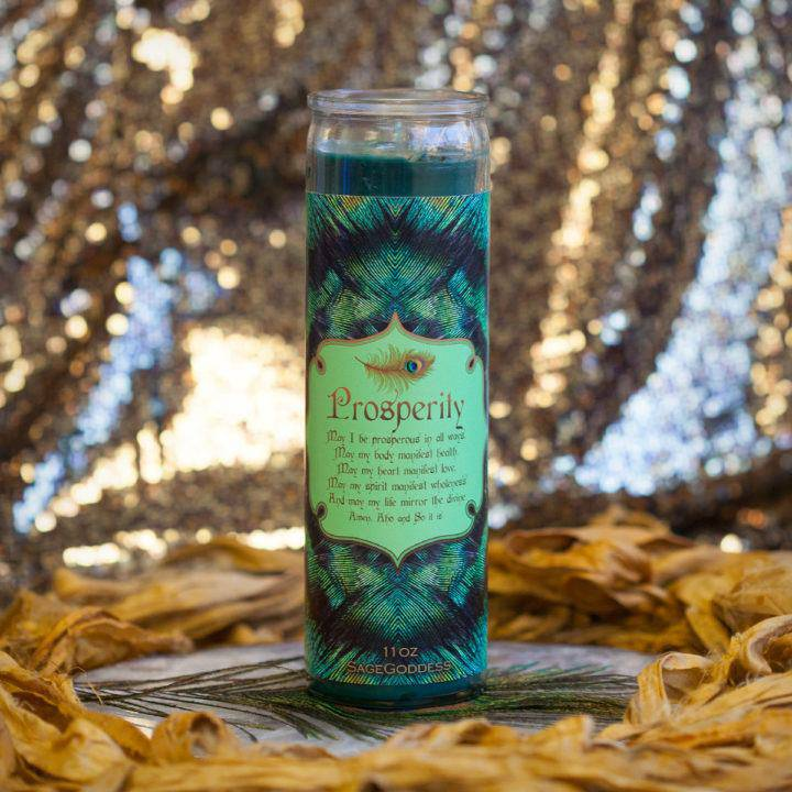Prosperity Intention Candle 4_12