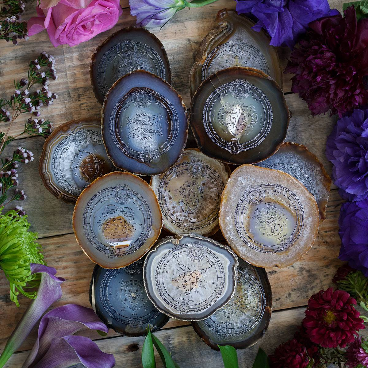 Astrology Agate Altar Plates DD 5_19 featured