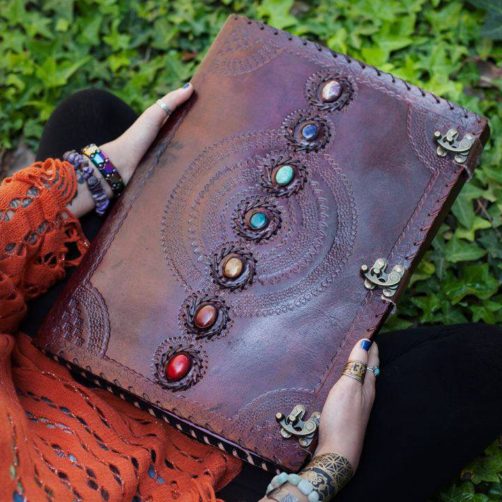 Chakra Leather Journals 5_16
