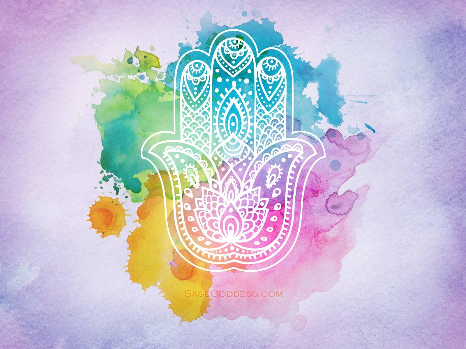 Sacred Hands of Hamsa