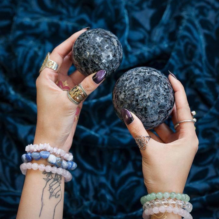 Larvikite Sphere DD 5_12