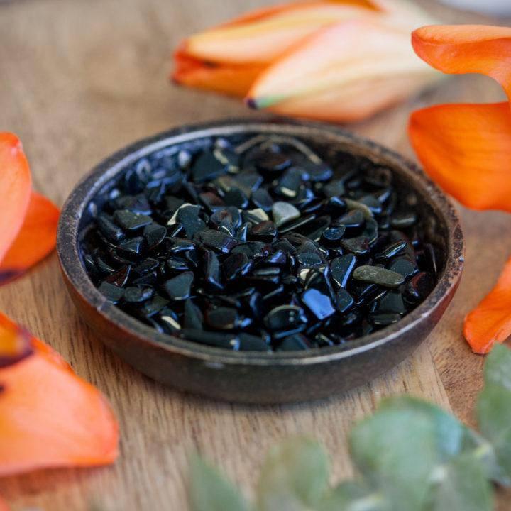 Black Obsidian Chip Stones 6_5