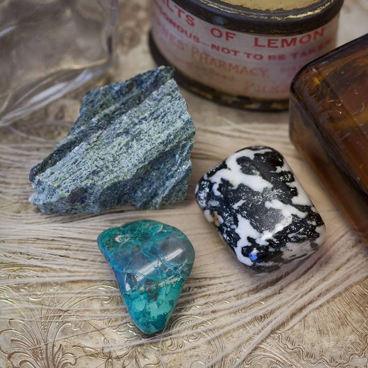Gem RX- Sage Goddess Gemstone Prescription Trio for Unleashing your Wild Woman 6_25