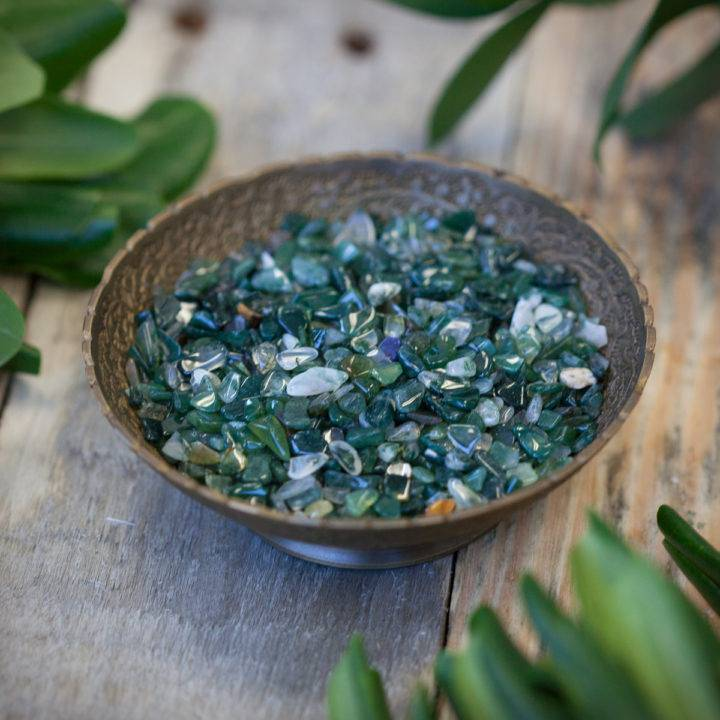 Green Agate Chip Stones 6_5