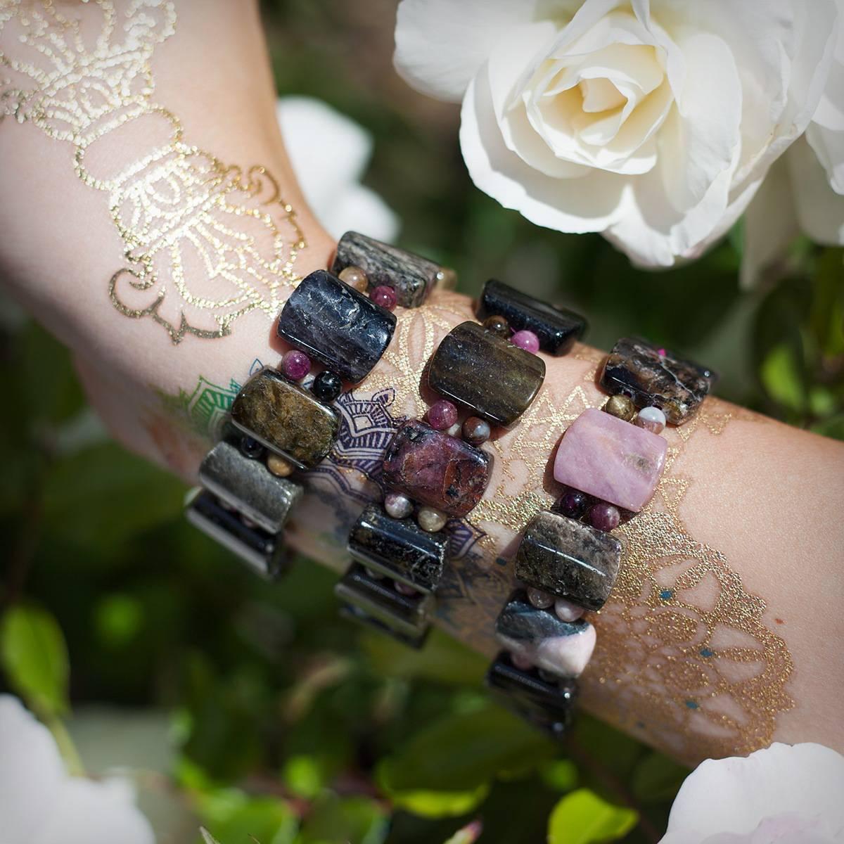 Mixed Tourmaline Bracelet 6_23 third