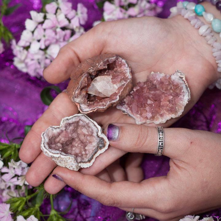 Pink Amethyst Geode 6_1 Primary