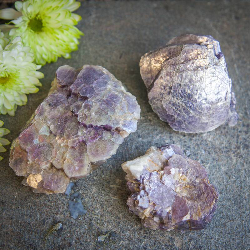 Natural Lepidolite Specimens DD _ 1 of 2 _ 7_11