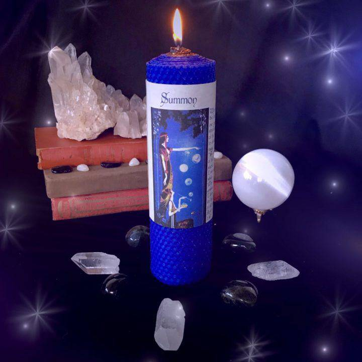 Summon Beeswax Intention Candles