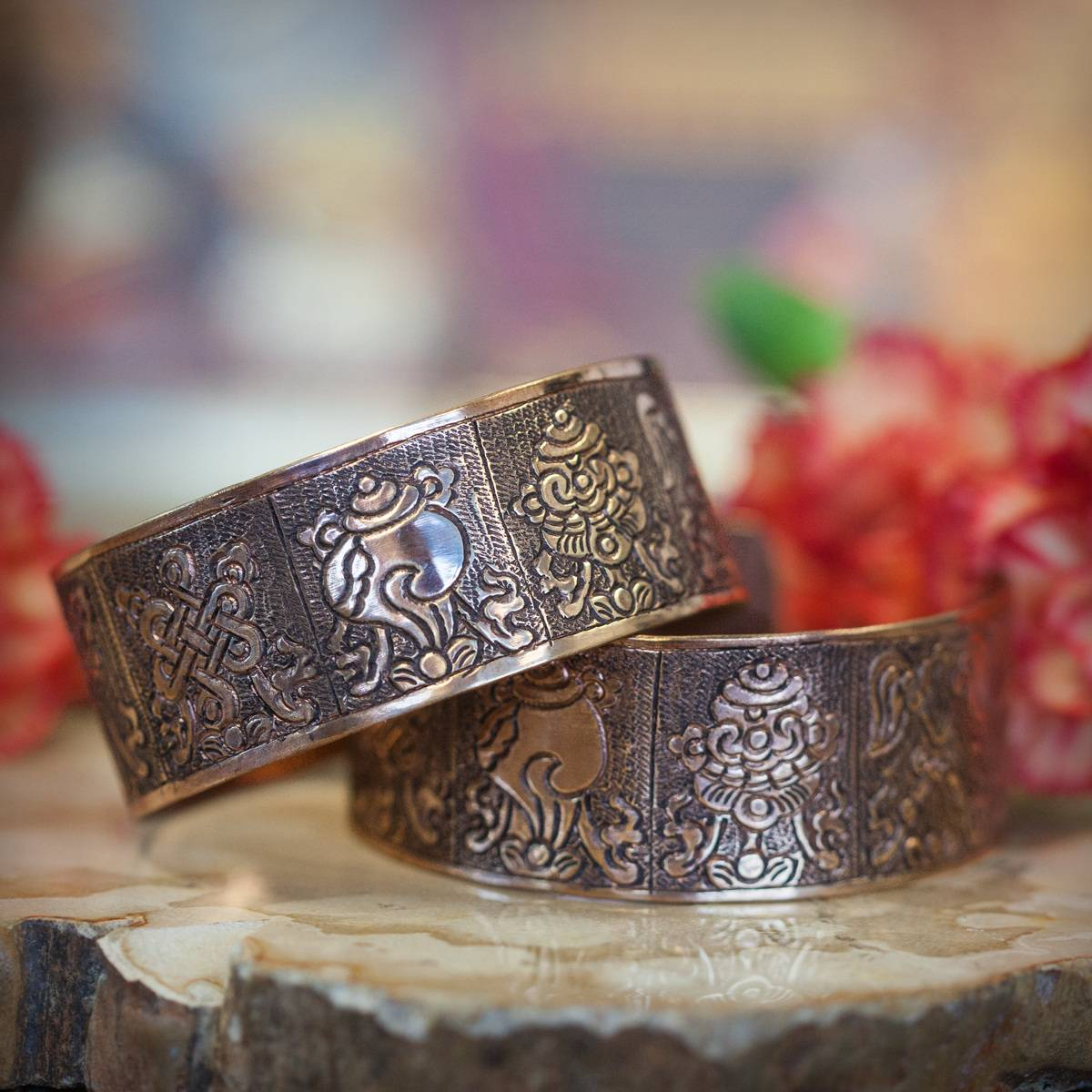 Tibetan Auspicious Symbols Bracelet_1of2_7_31