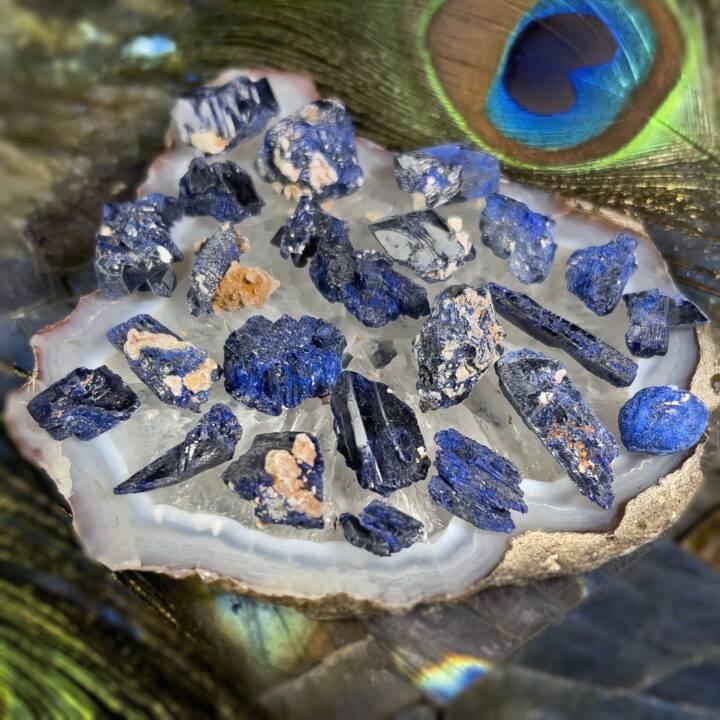 Natural Azurite Crystal