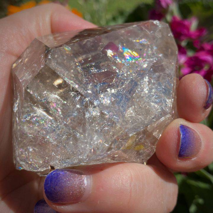 Pure White Light Herkimer Diamonds