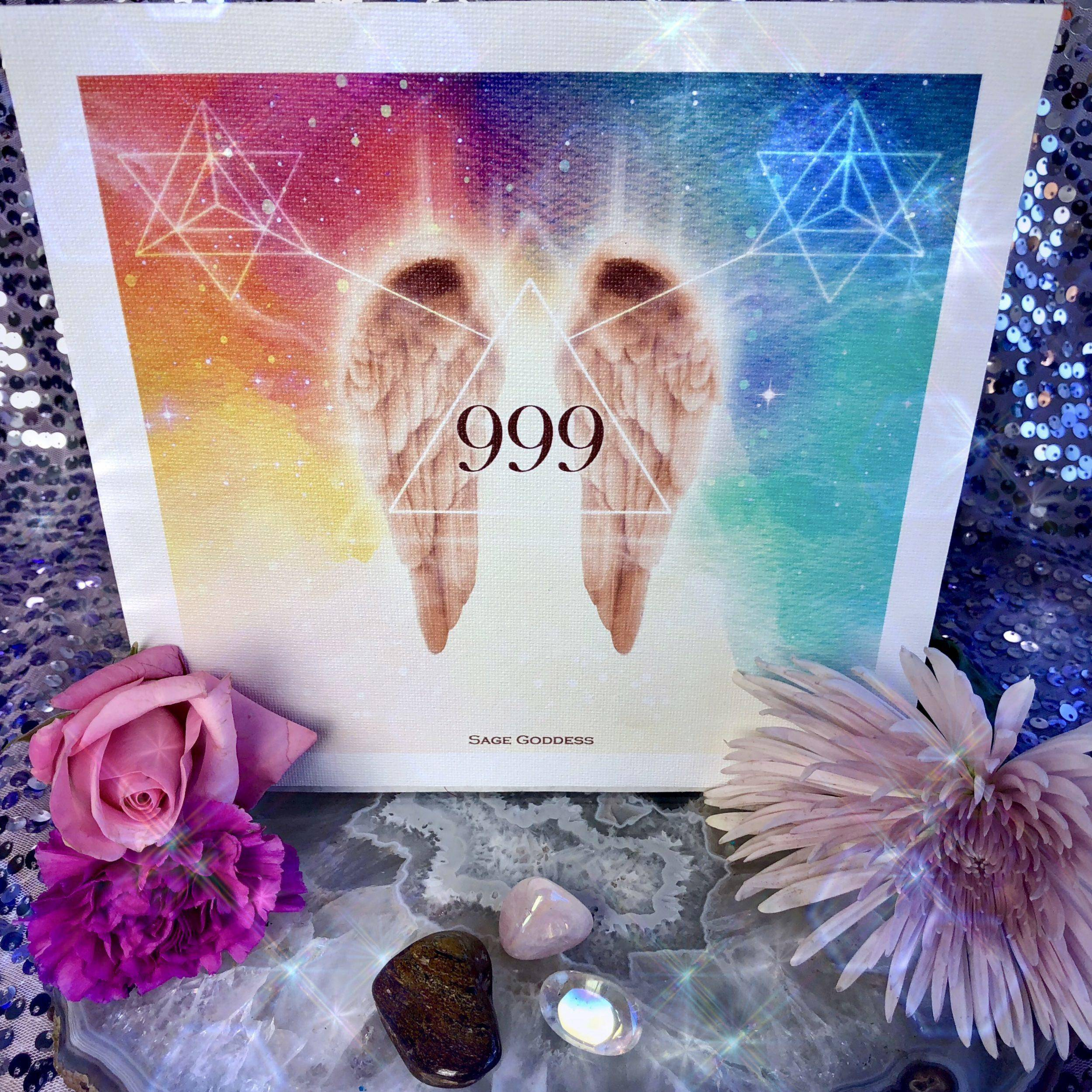 Angel Number Tool Set 999: Completion, Finality, Ending of Universal or  Karmic Cycles