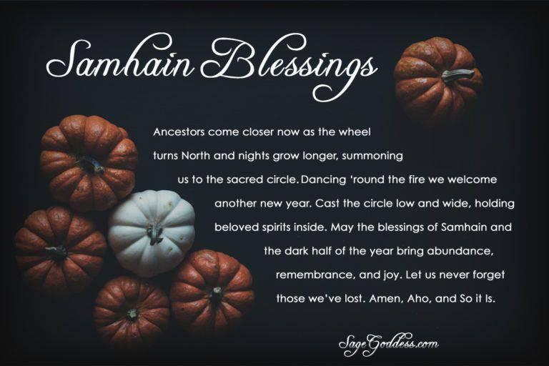 Halloween Samhain And Dia De Los Muertos E Cards Sage Goddess