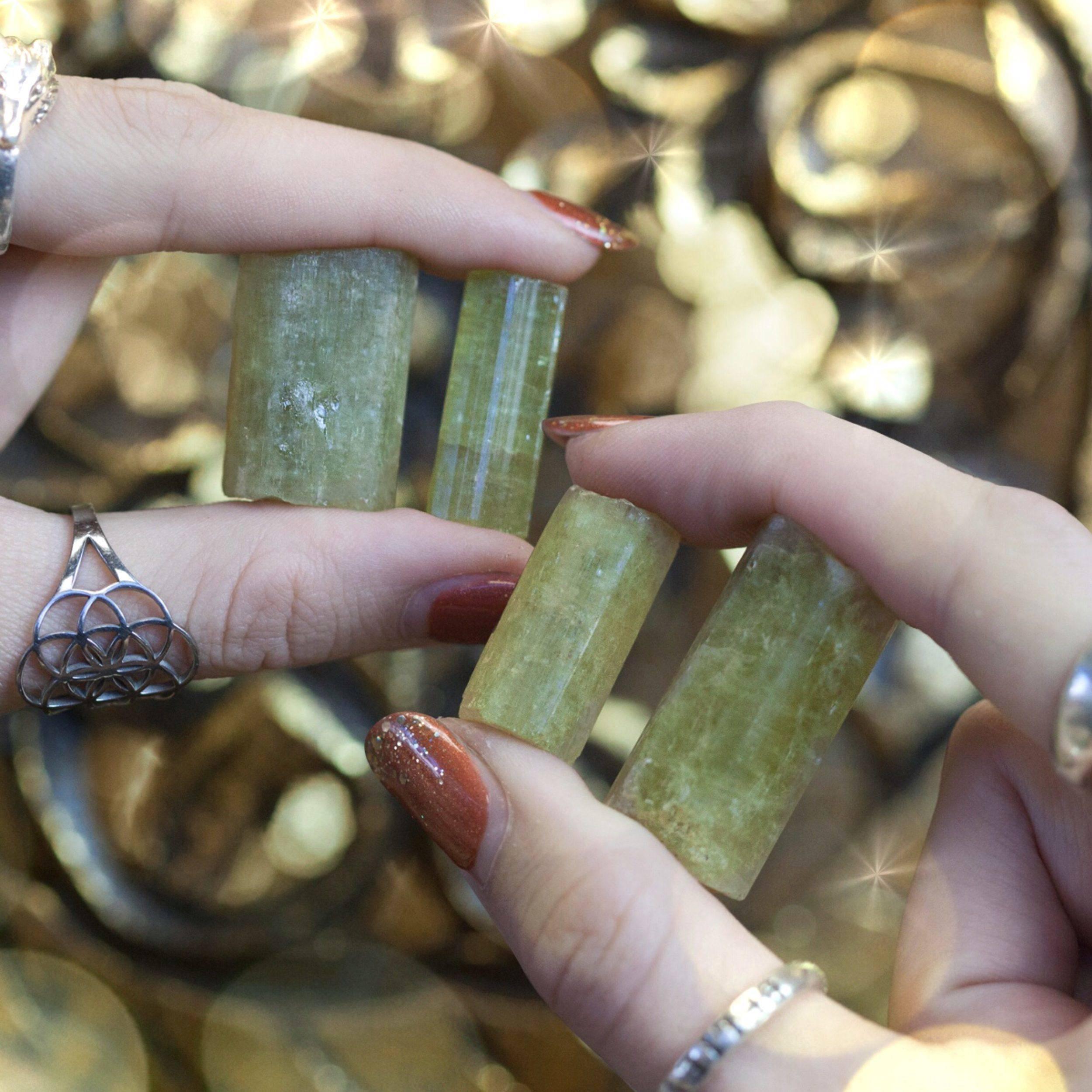 Mega Abundance Crystals anointed with Mega Money Perfume 1