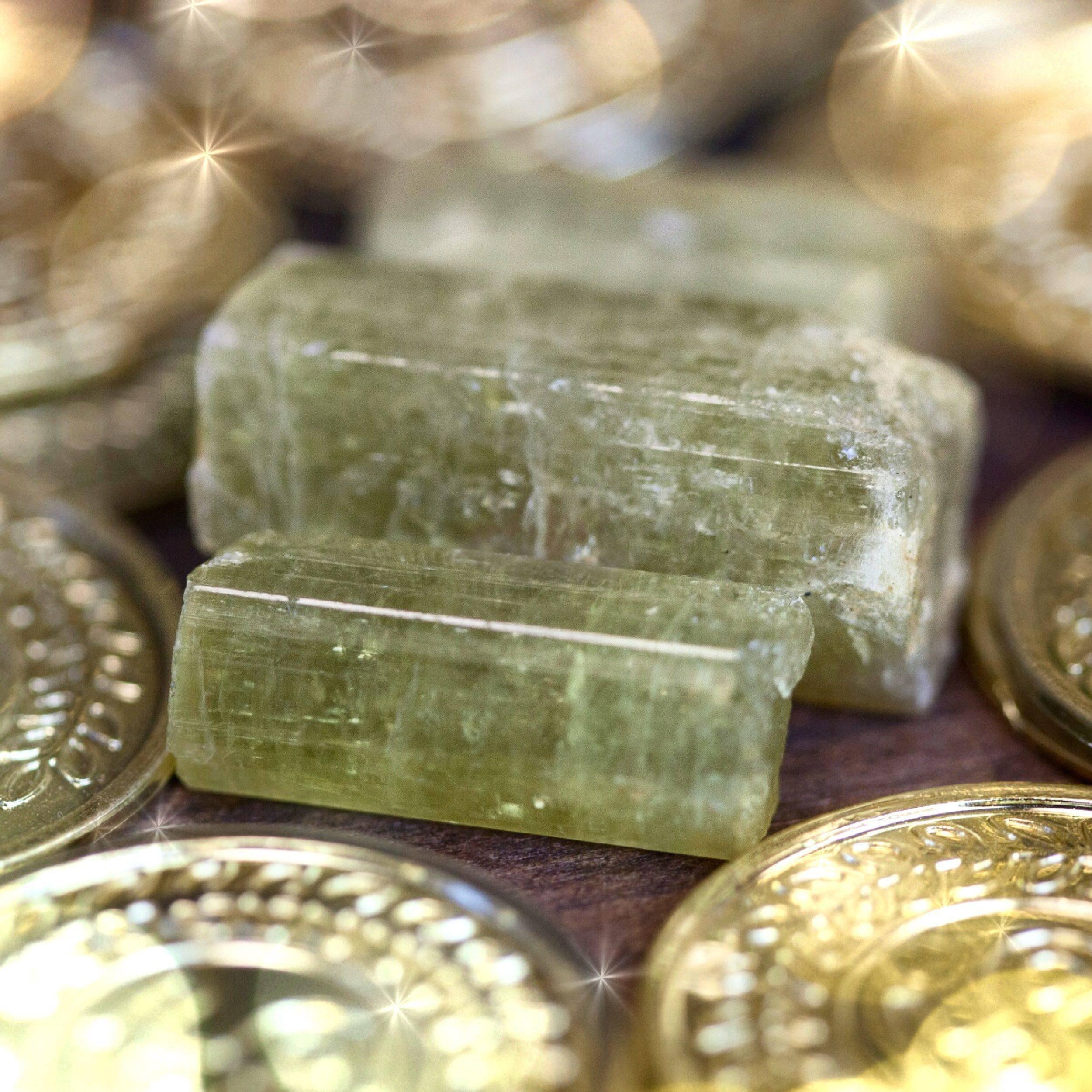Mega Abundance Crystals anointed with Mega Money Perfume 2