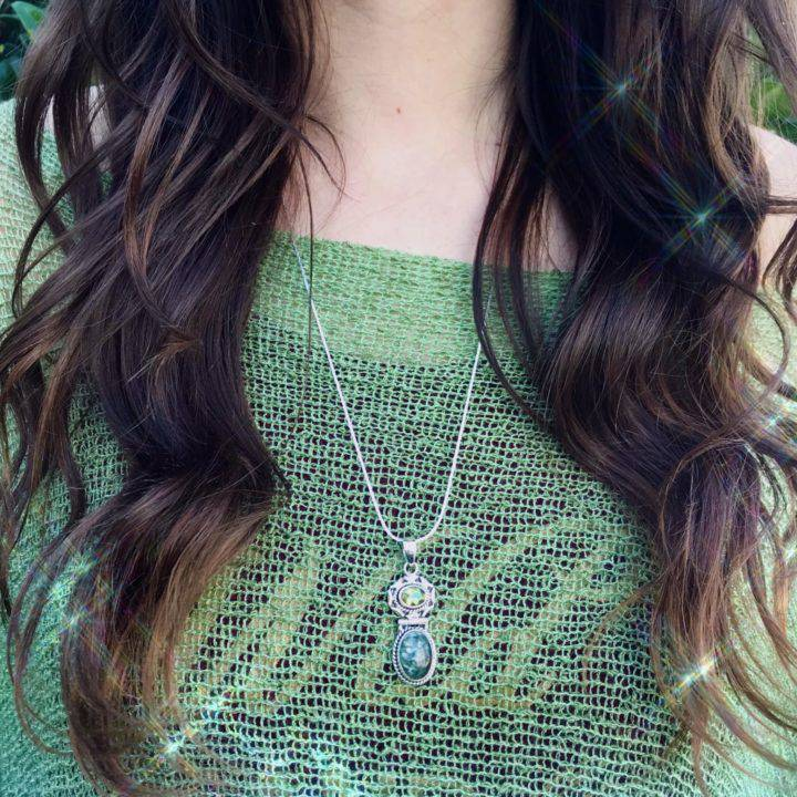 All_the_Angels_Seraphinite_and_Peridot_Pendant_3of3_11_24