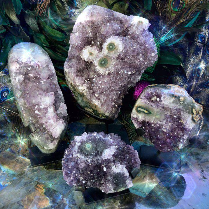 Amethyst_Magic_Clusters_on_Stands _or_amplifying_peace_in_your_home_DD_1of3_11_24