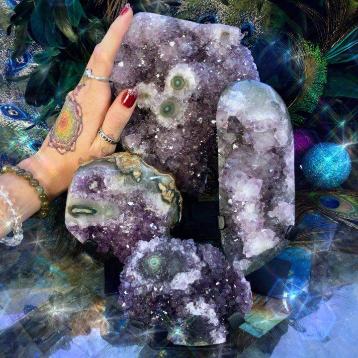 Amethyst_Magic_Clusters_on_Stands _or_amplifying_peace_in_your_home_DD_2of3_11_24.