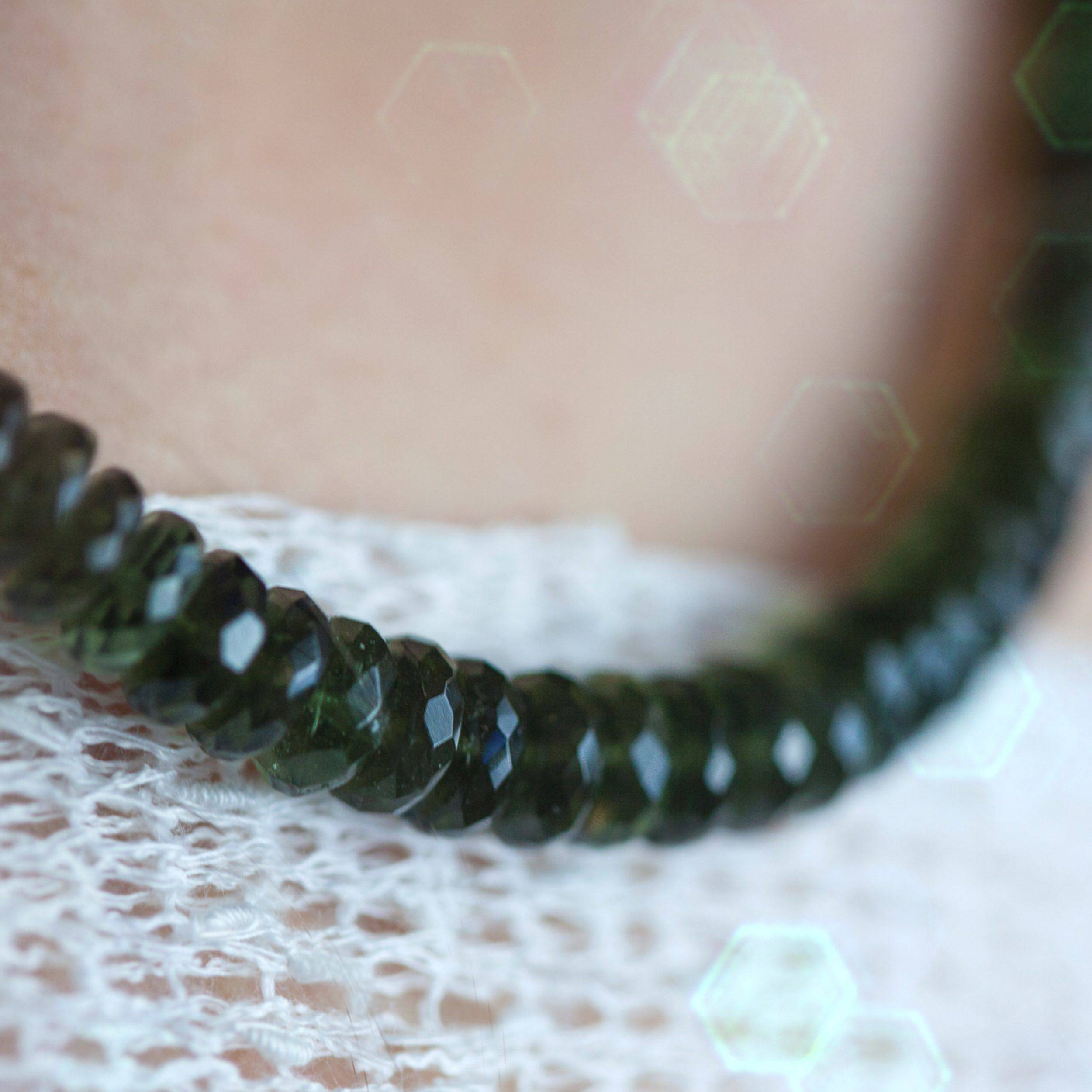 Moldavite Necklaces for rapid and powerful spiritual transformation