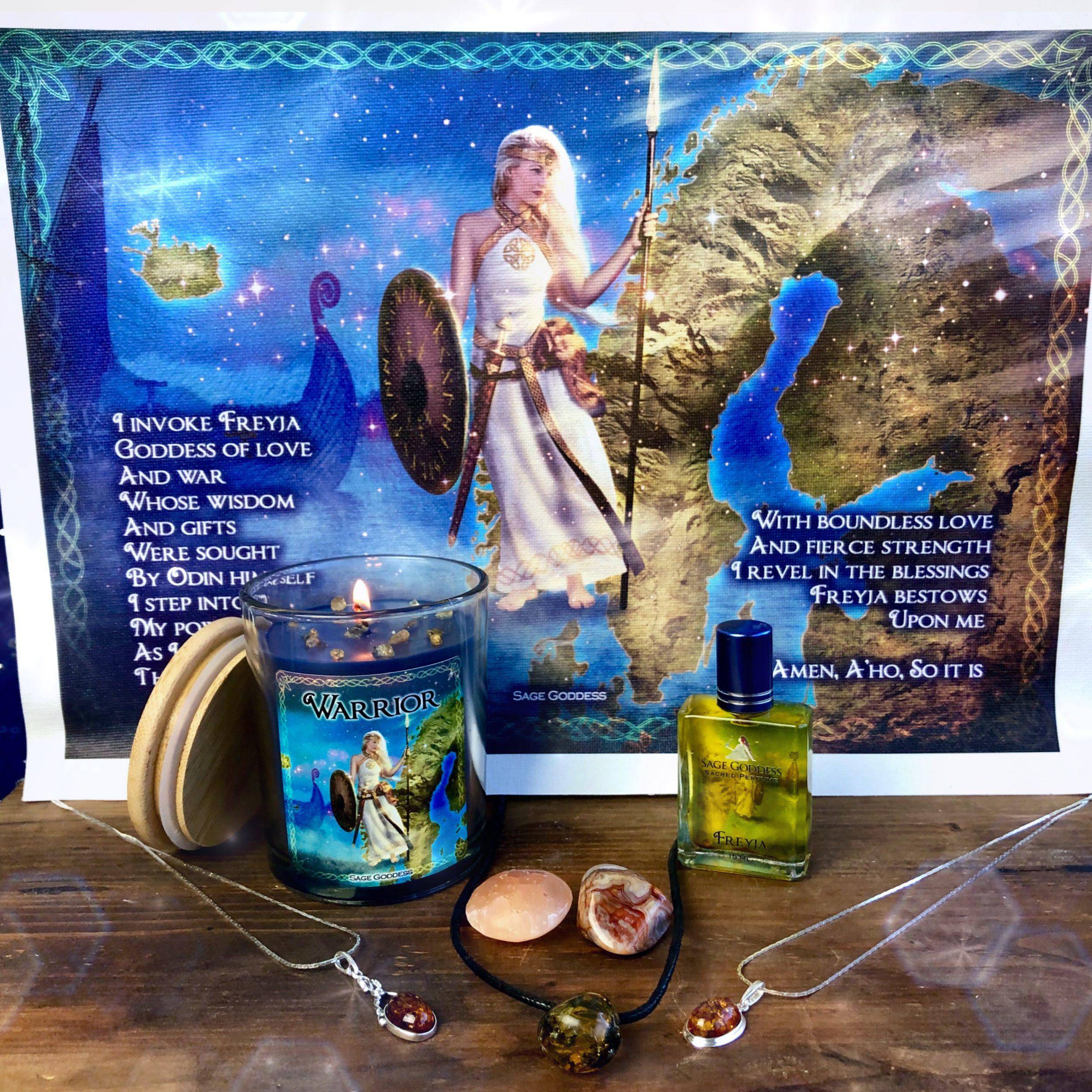 December 2018 Magical Sabbatical Set – Magic of Ancient Norse: An Untamed  Force of Nature, the Embodiment of Freyja
