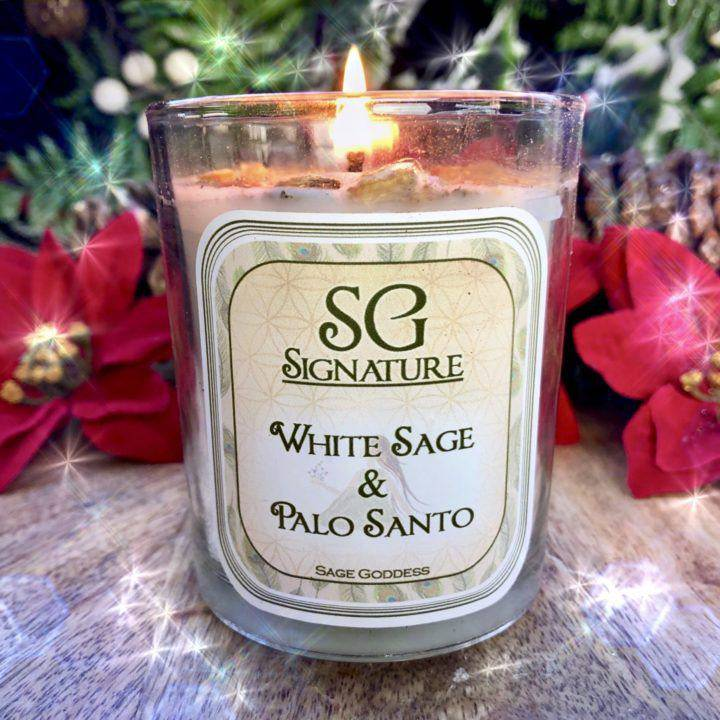 Sage Goddess Signature Smudge Candles
