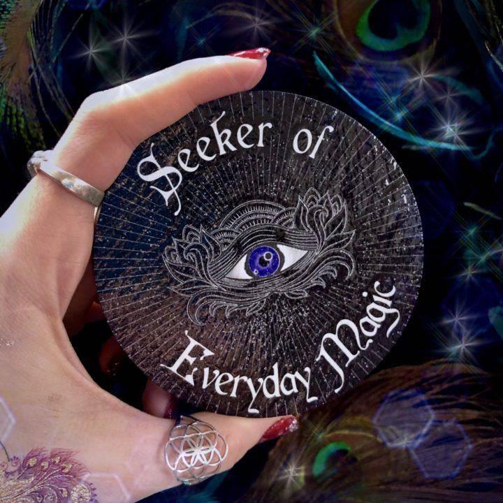 Seeker of Everyday Magic Coaster