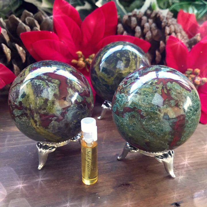 Dragonstone_Sphere_with_sample_of_Dragon_Perfume_1of3_12_11