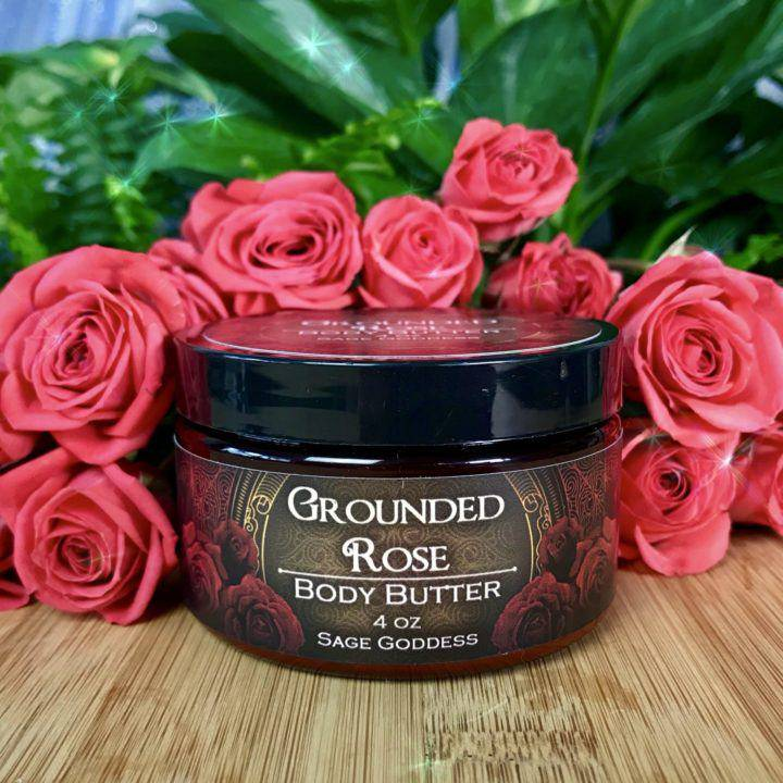 Grounded Rose Body Butter