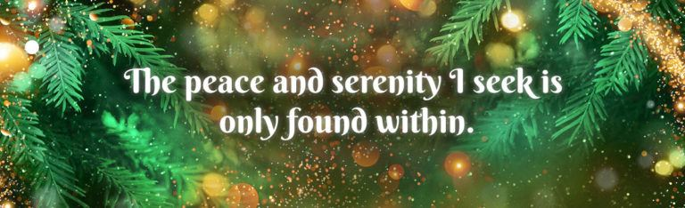 Achieving Inner Peace During Holidays